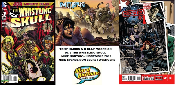 The Whistling Skull With Tony Harris and B Clay Moore Mike Norton on Revival and Nick Spencer Talks Secret Avengers