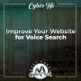 Artwork for Cyber Tip:  Improve Your Website for Voice Search