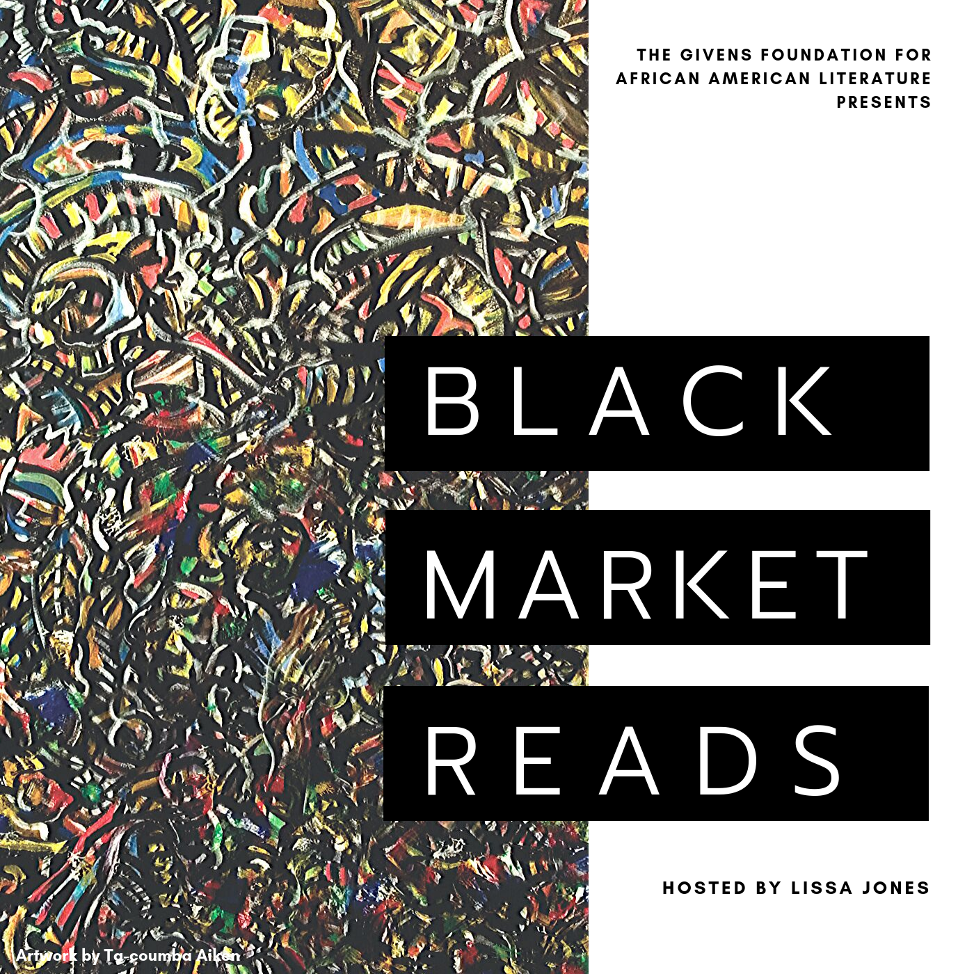 Givens Foundation | Black Market Reads show art