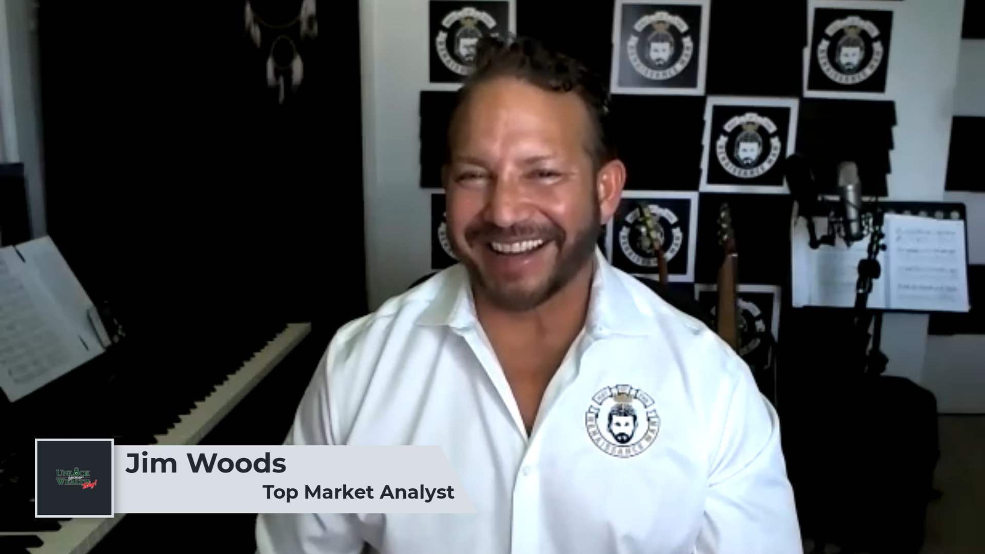 Artwork for Stock Market Predictions Featuring Top Market Analyst Jim Woods