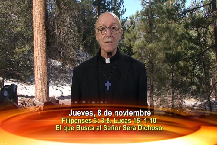 Artwork for Dios te Habla con Fr. Lenny de Pasquale;  Tema el hoy: El que busca al Señor será dichoso.