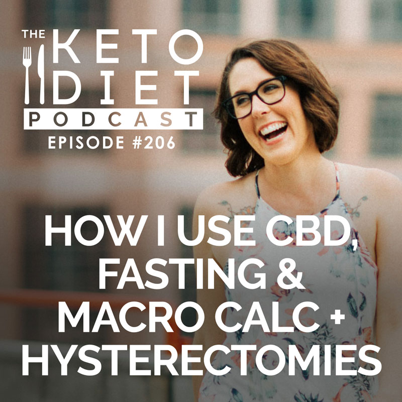 #206 How I Use CBD, Fasting & Macro Calc + Hysterectomies