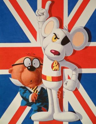 Episode 18 - Danger Mouse: Penfold If You're Very Good I'll Buy You A New Rubber Duck.. A Wind Up One.. That Squeaks!