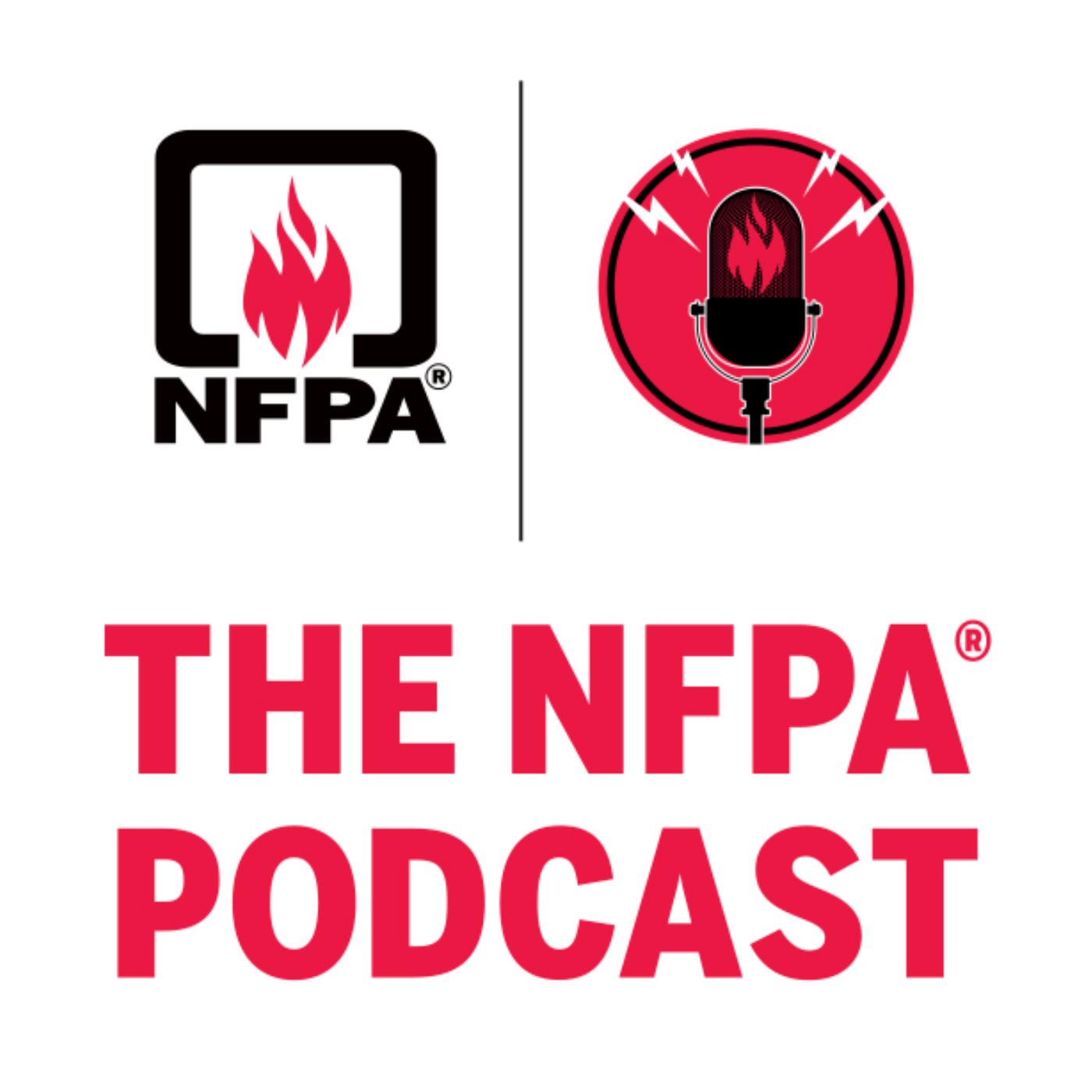 The NFPA Podcast show art