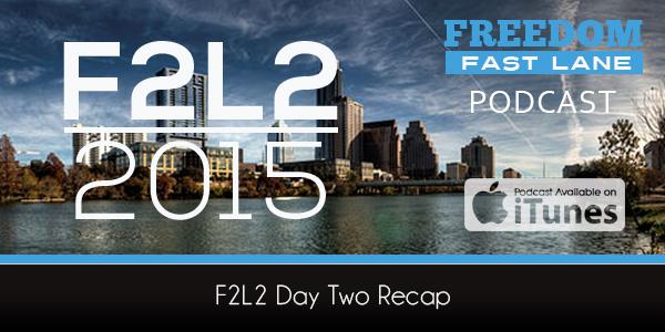 F2L2 Day 2 Recap