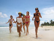 Amansala Home of the Bikini Boot Camp the Hottest Resort in Mexico. And John Spencer Ellis' Celebrity Fitness Tips