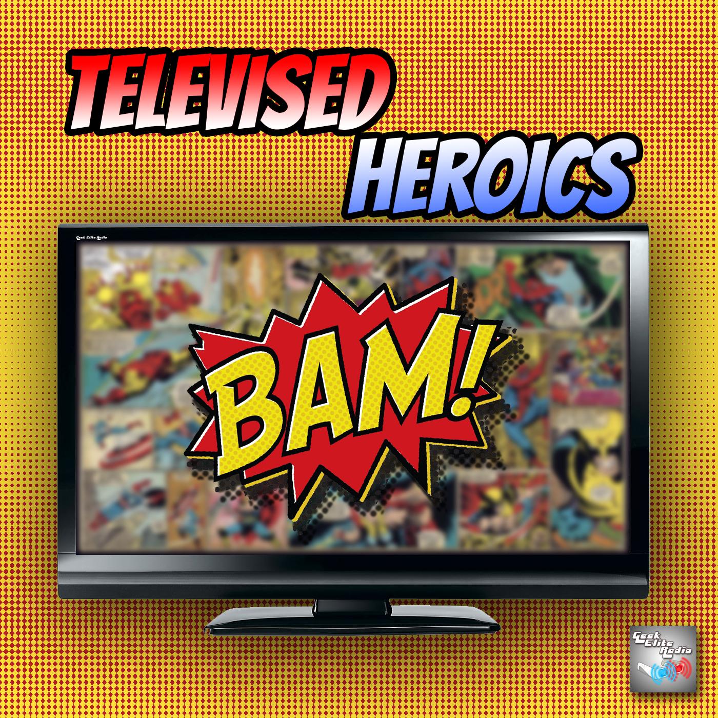 Artwork for Televised Heroics - Episode 54 A Spaghetti Dinner!!!