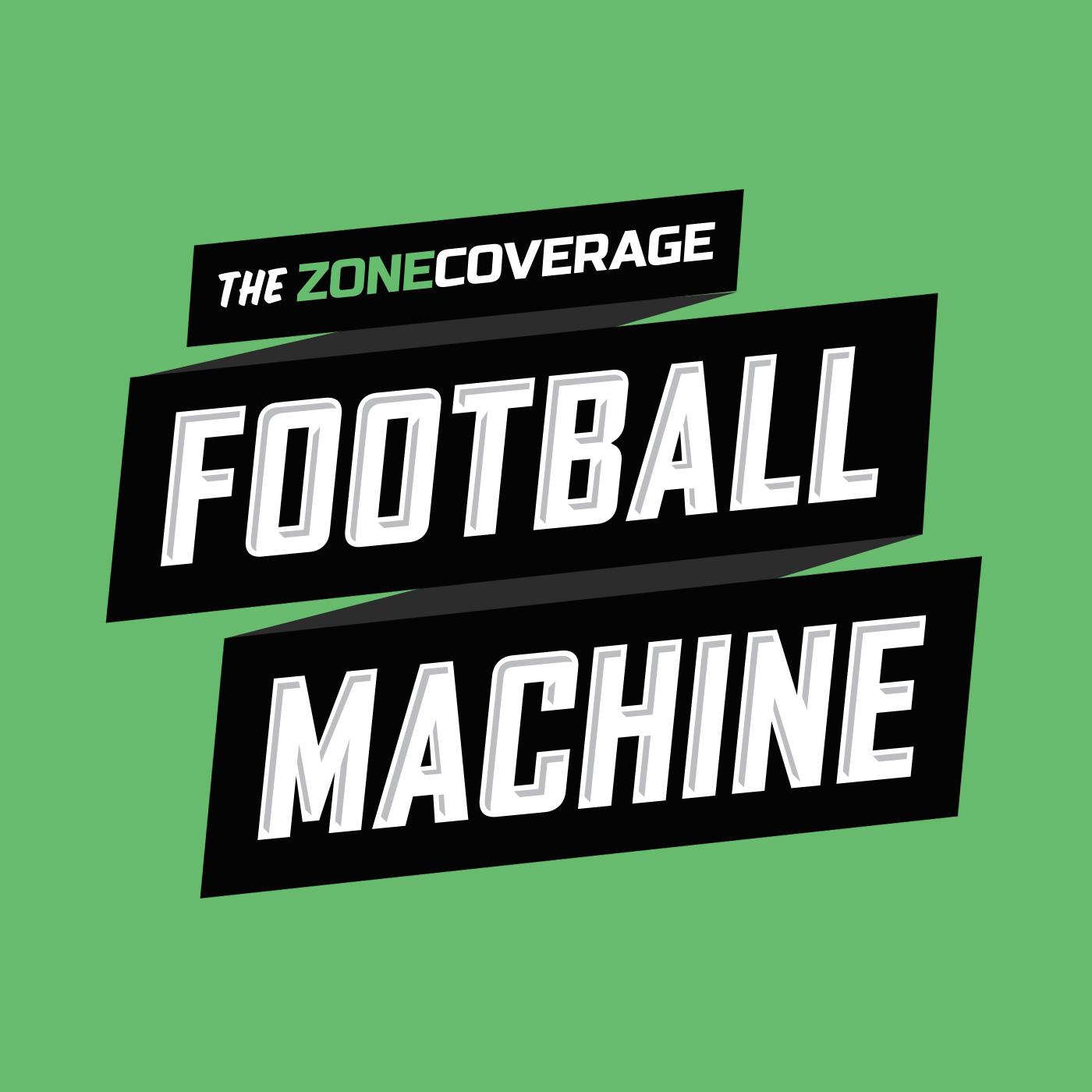 The Zone Coverage Football Machine show art