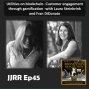 Artwork for JJRR Ep45 Utilities on blockchain - Customer engagement through gamification - with Laura Steinbrink and Fran DiDonato