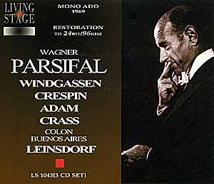 Parsifal from Buenos Aires, 1969