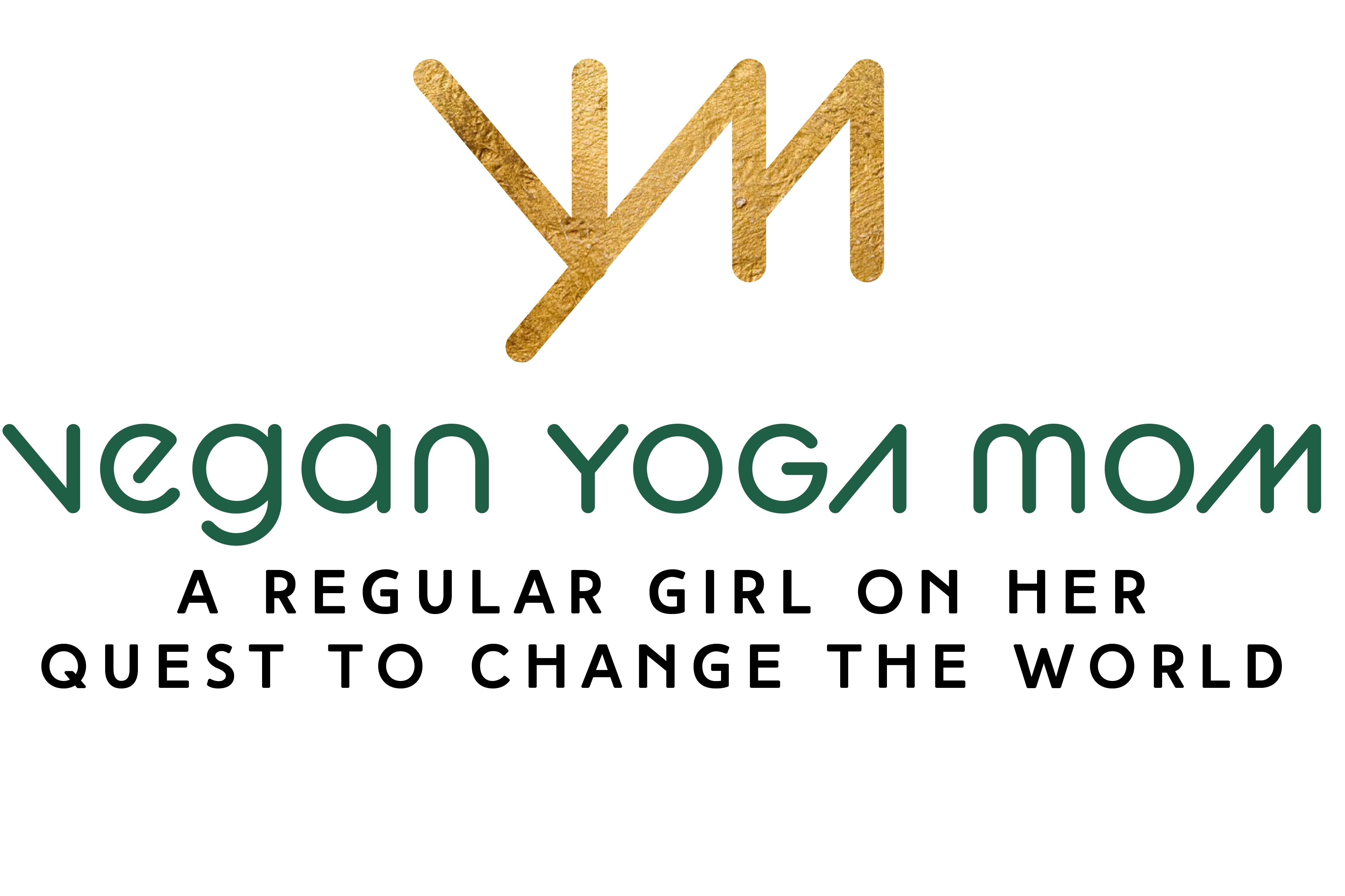 vegan yoga mom