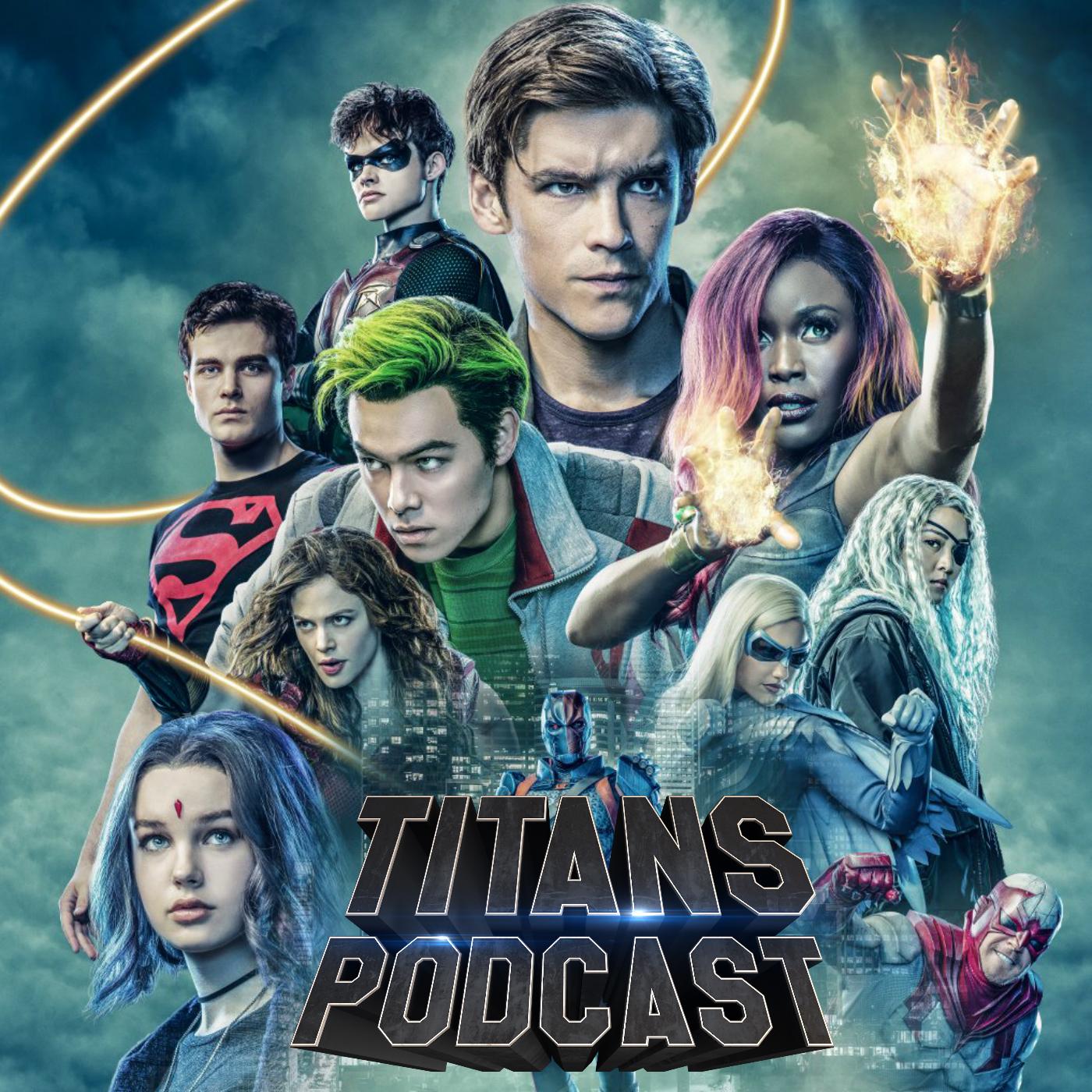 Titans Podcast show art