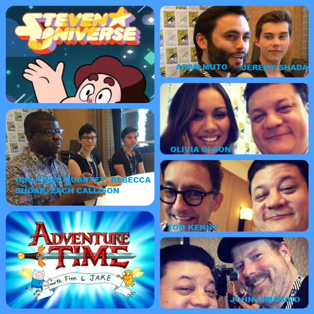 Episode 631 - SDCC: Steven Universe/Adventure Time w/ Rebecca Sugar/Zach Callison/Ian Jones Quartey/John DiMaggio/Tom Kenny/Adam Muto/Olivia Olson/Jeremy Shada!
