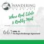 Artwork for Episode 66.1:  WBNL 52 -   The Buyer Brokerage Agreement