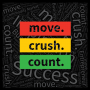 Artwork for MCC 001: move. crush. count. What We Are All About