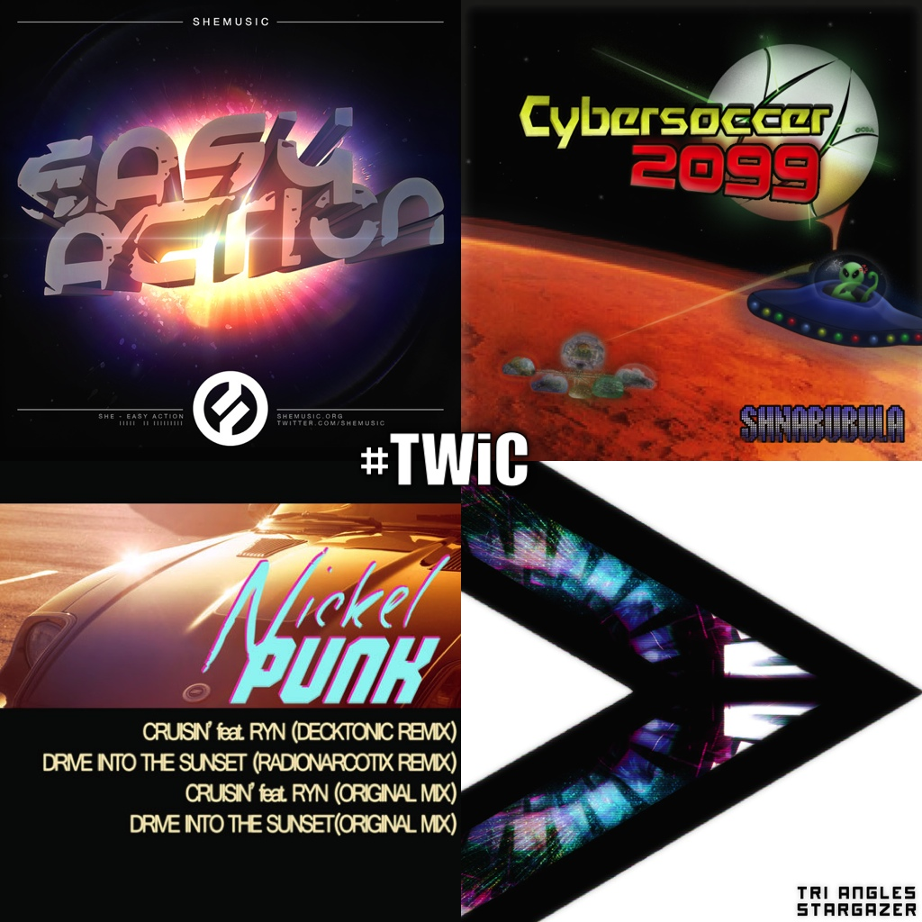 TWiC 025: Silnaye feat Chrono Triggers, She, Tri Angles, nickelPUNK