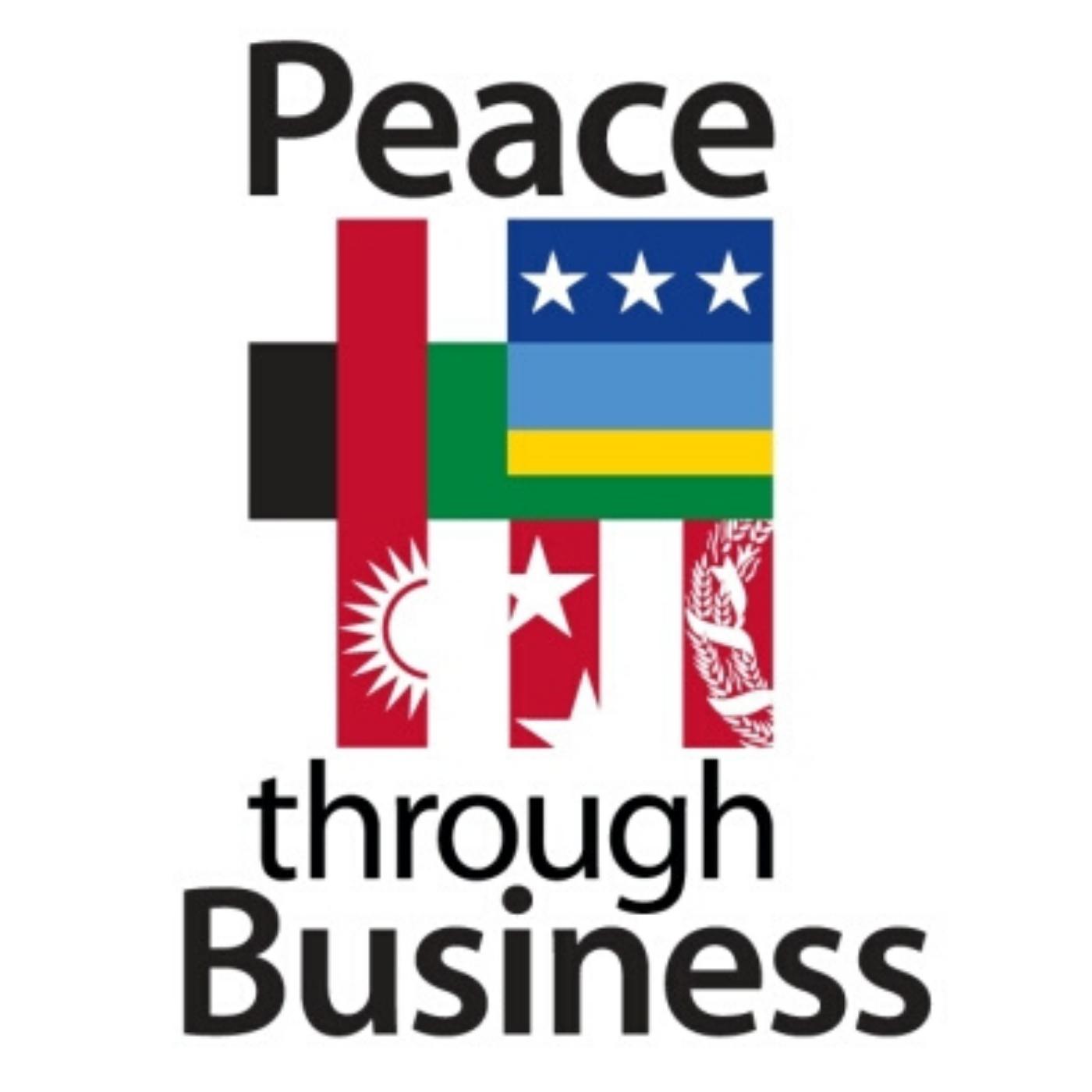 PEACE THROUGH BUSINESS® show art