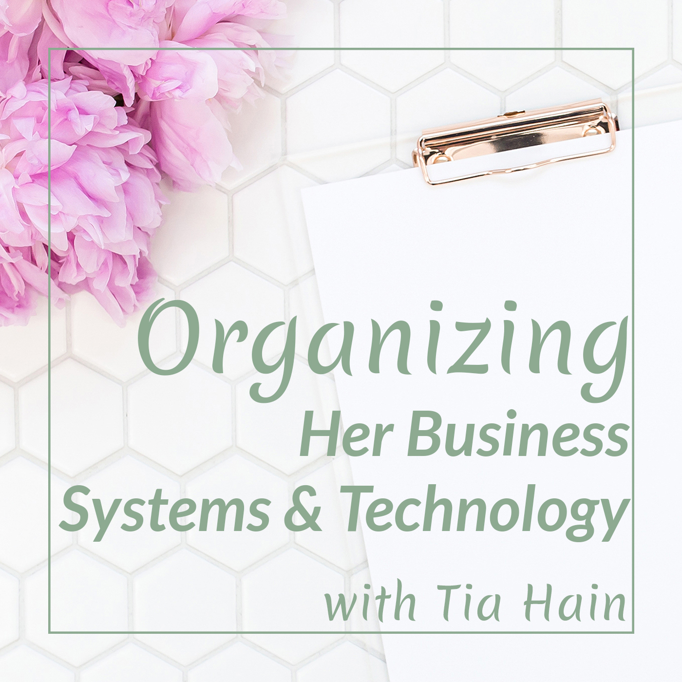 Organizing Her Business Systems and Technology show art