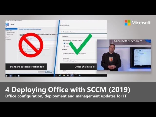 Microsoft Mechanics: Deploying Office with SCCM (2019)