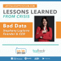 Artwork for Episode 136: Lessons Learned from Crisis - Bad Data
