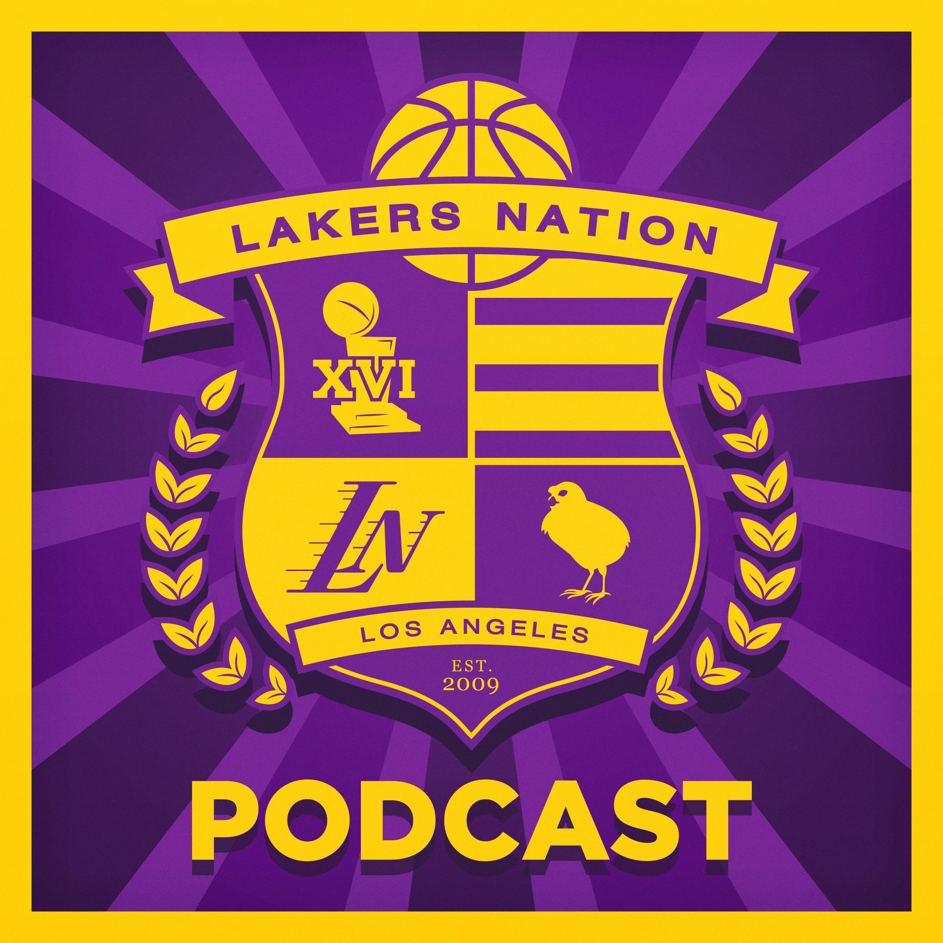 Lakers Nation Podcast show art