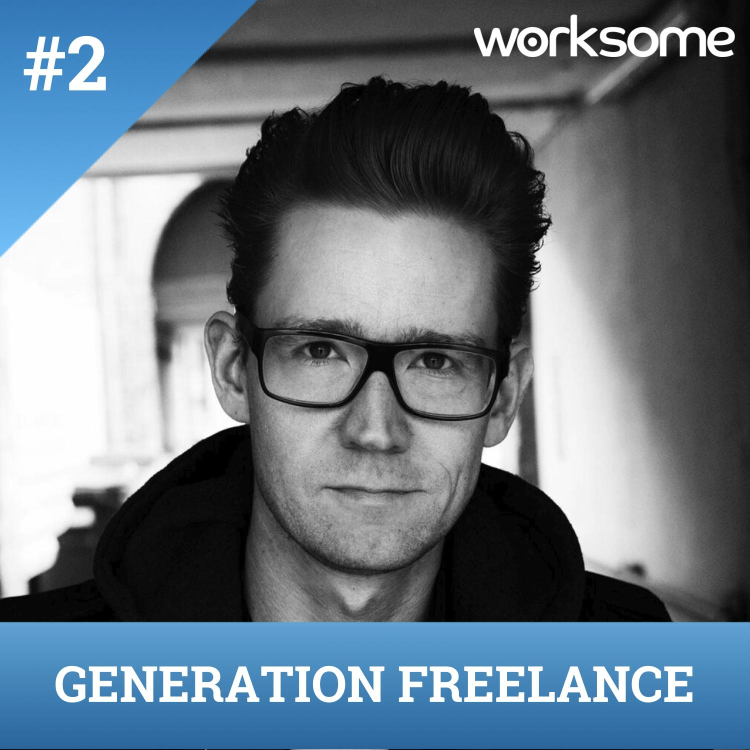 #2 - Survivalguide for freelancere! Med Palle Schmidt, forfatter, tegner og 100% freelancer