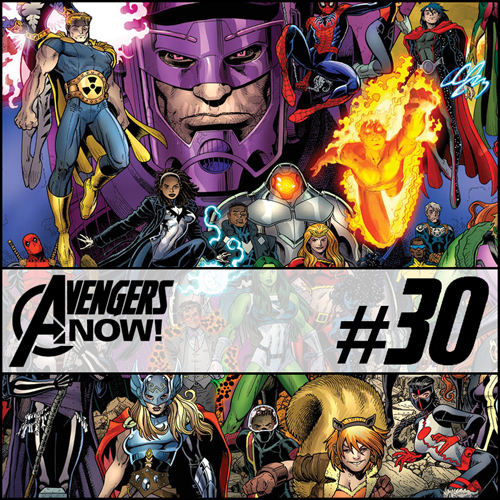 Cultural Wormhole Presents: Avengers Now! Episode 30