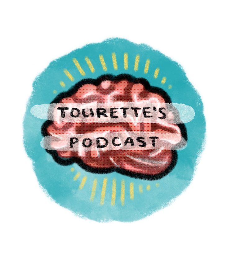 Tourette's Podcast show art