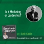 Artwork for Is it Marketing or Leadership? with Seth Godin