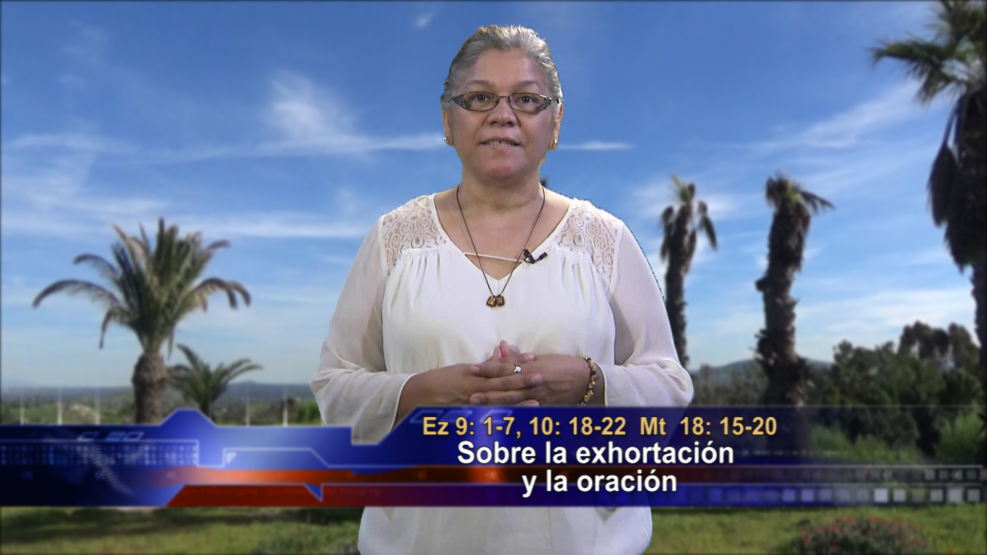 Artwork for Dios te Habla con Angela Valencia;  Tema el hoy:  Sobre la exhortación y la oración.