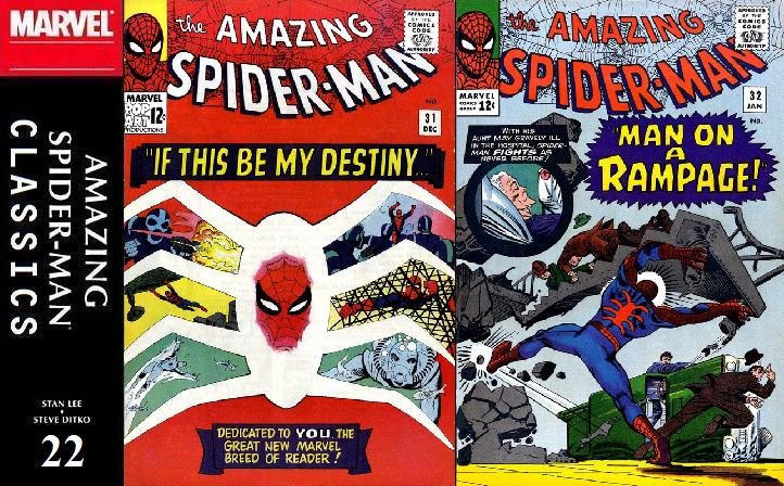022 ASM Classics - Amazing Spider-Man 31 and 32