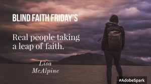 Blind Faith Friday: Lisa McAlpine from Scotland