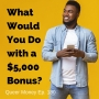 Artwork for What Would You Do with a $5,000 Bonus - Queer Money Ep. 180