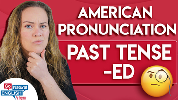 ED pronunciation - how to pronounce the past simple tense examples