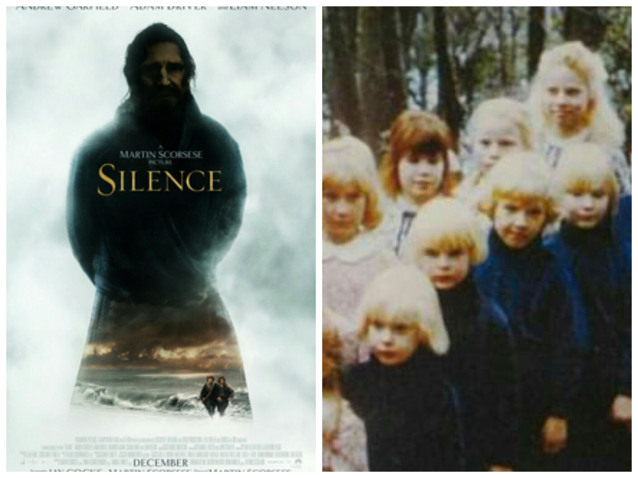 Posters for Silence and The Family
