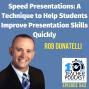 Artwork for Speed Presentations: Help Students Improve Presentation Skills Rapidly