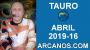 Artwork for HOROSCOPO TAURO-Semana 2019-16-Del 14 al 20 de abril de 2019-ARCANOS.COM...