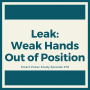 Artwork for Choosing to Play Weak Hands Out of Position
