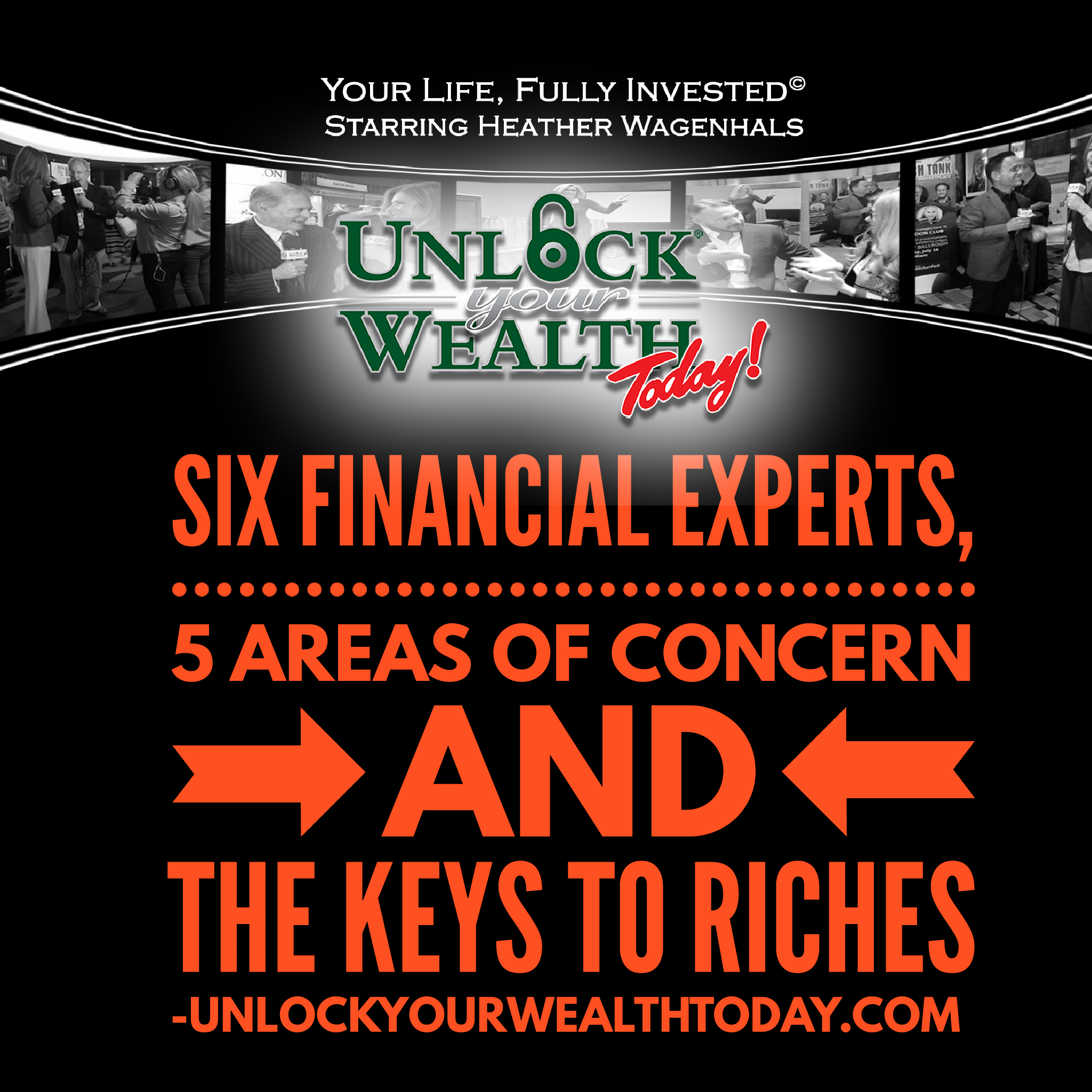 Artwork for Six Financial Experts, Five Areas of Concern and the Keys to Riches© Financial Philosophy