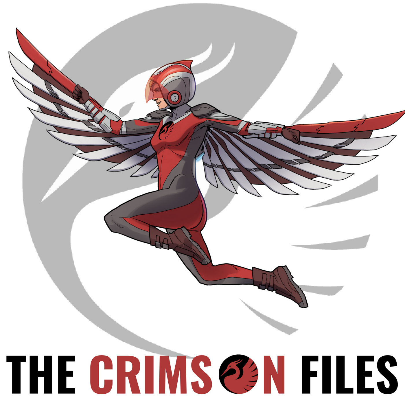The Crimson Files show art