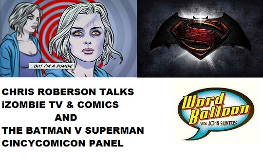 Chris Roberson Co-Creator Of iZombie & The Batman V Superman Panel from Cincy Comicon