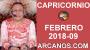 Artwork for CAPRICORNIO FEBRERO 2018-09-25 Feb al 3 Mar 2018-Amor Solteros Parejas Dinero Trabajo-ARCANOS.COM