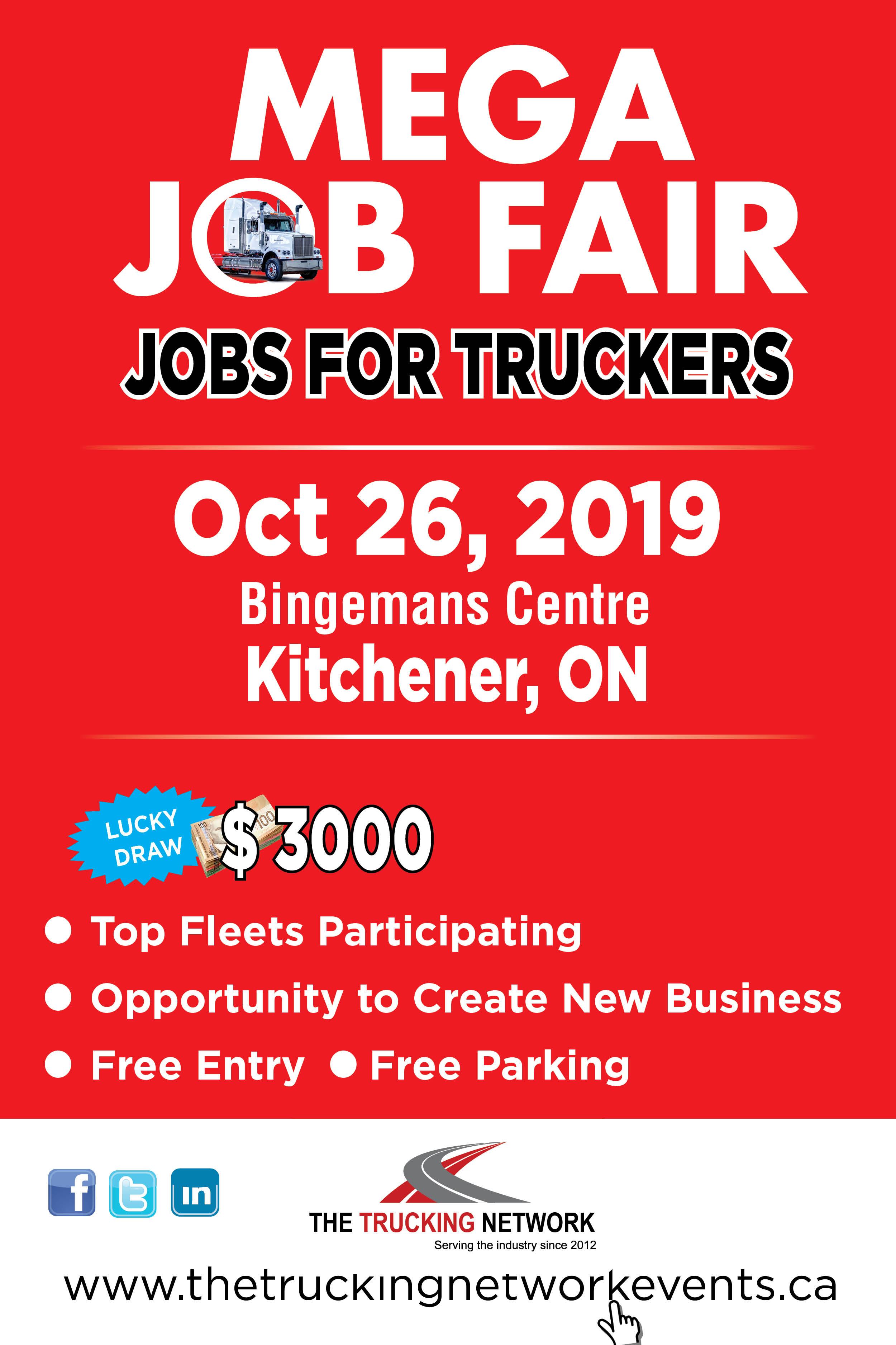 The Trucking Network Oct Job Fair