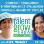 Artwork for 130: Conflict Resolution and Performance Evaluation through Harmony Circles with Psychologist and Mediator Kira Nurieli on the TalentGrow Show with Halelly Azulay