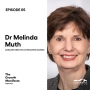 Artwork for Dr Melinda Muth, on leadership, culture and how to build highly effective teams.