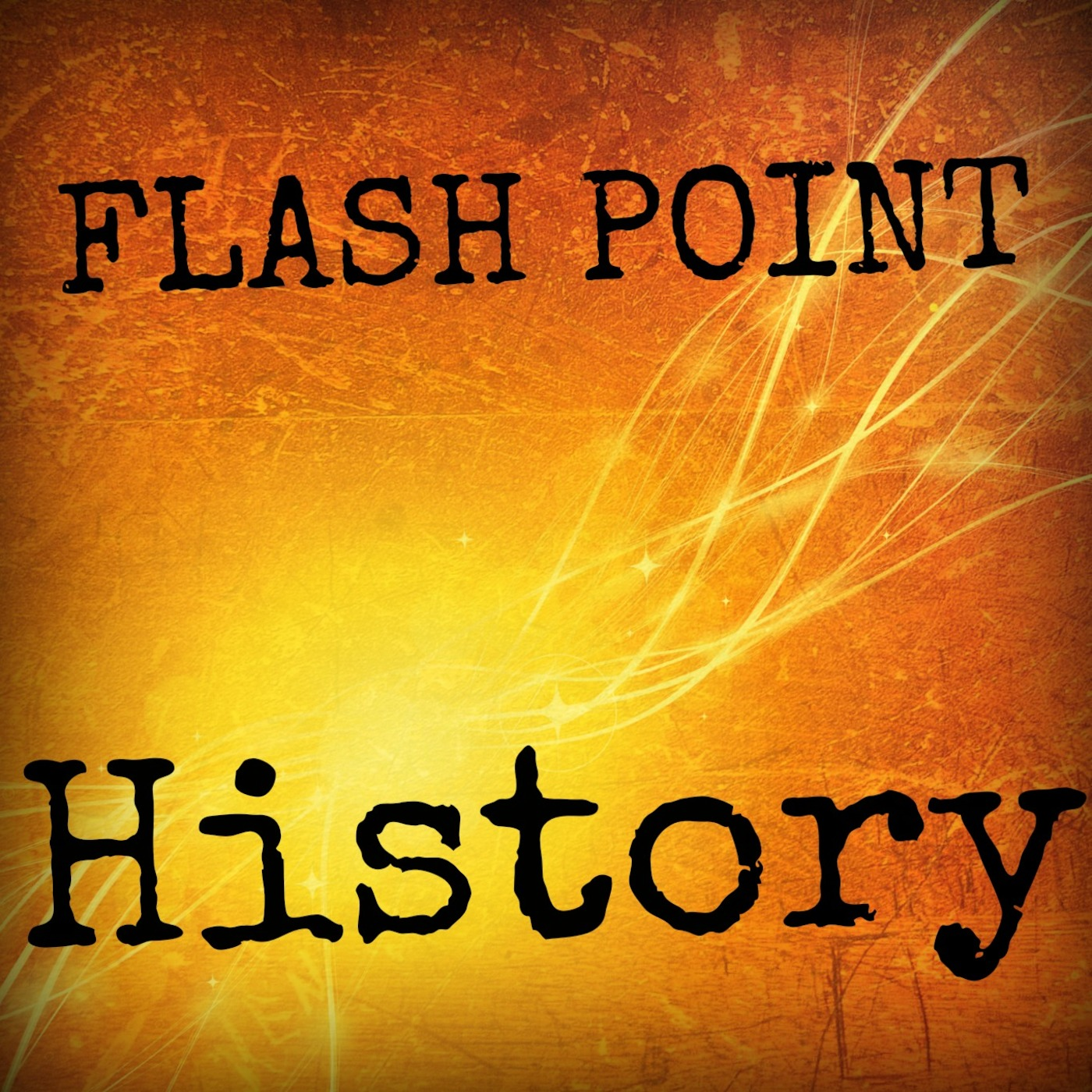Flash Point History show art