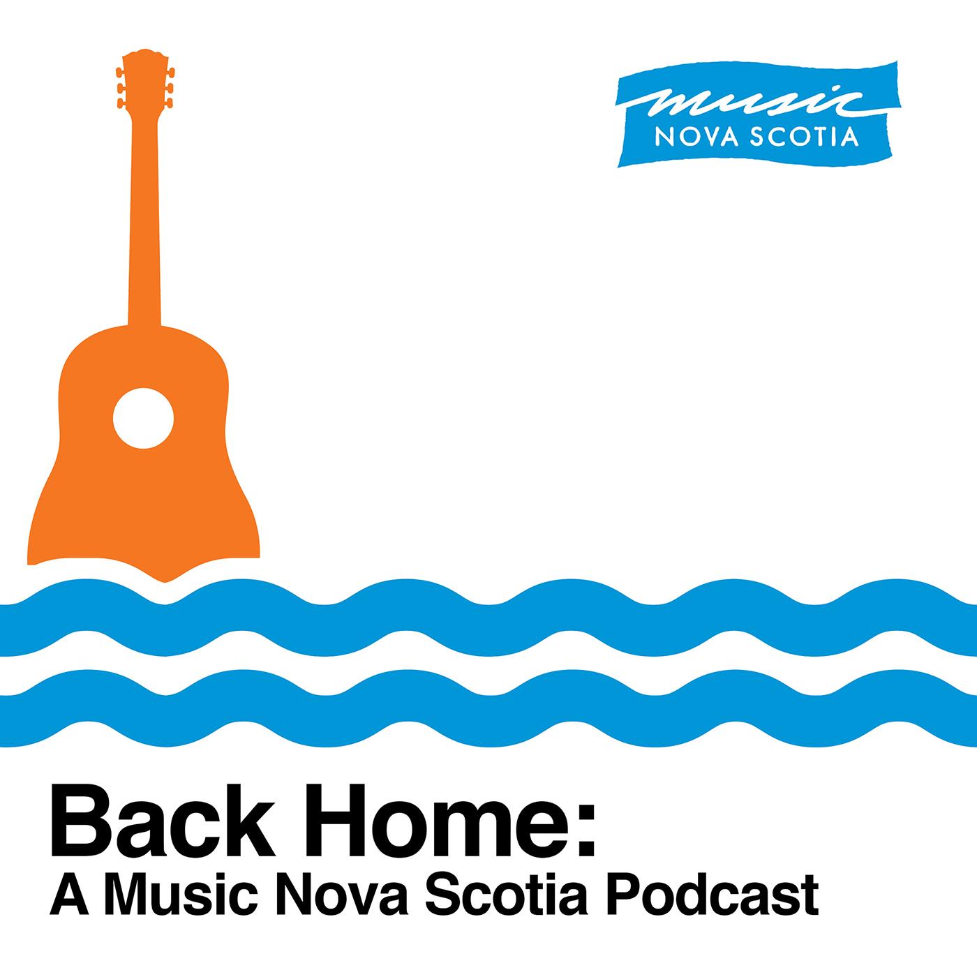 Back Home: A Music Nova Scotia Podcast show art