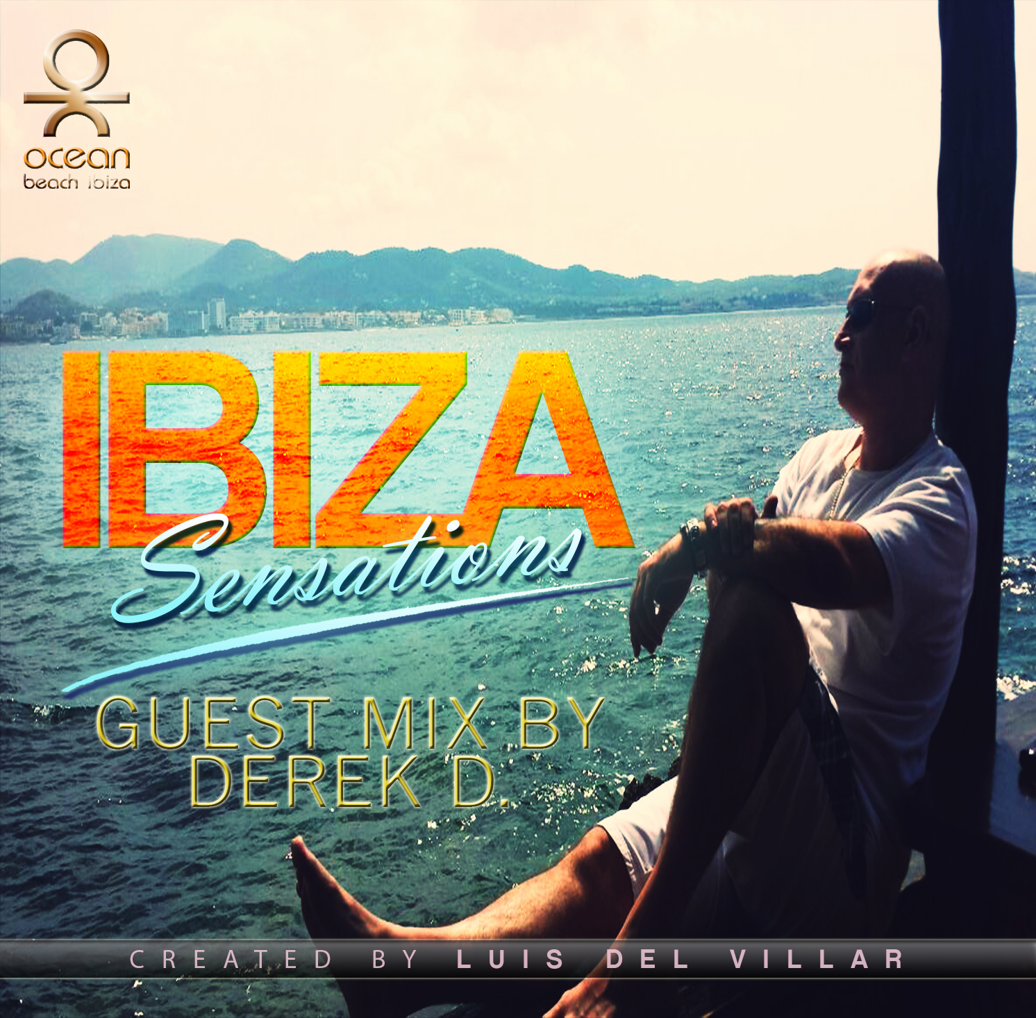 Artwork for Ibiza Sensations 115 Guest mix by Derek D. (Beachgrooves Radio - Costa del Sol)