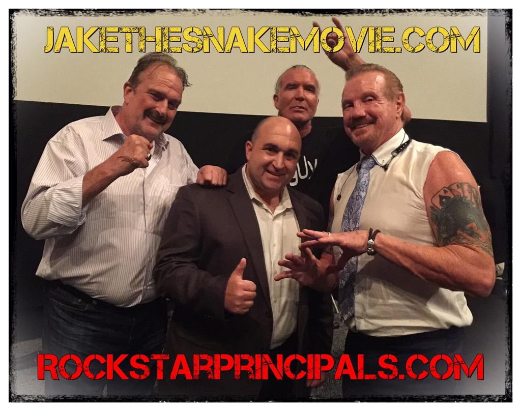 "Episode 69: The Rock Star Principals' Podcast Movie Review: ""The Resurrection of Jake the Snake Roberts"""