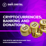 Artwork for Cryptocurrencies, Banking and Donations #4 How does the blockchain hold the key to banking in the future?